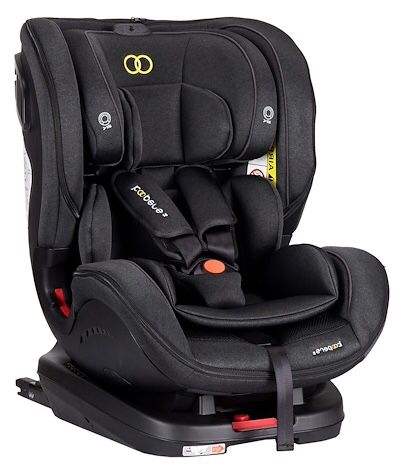 Baby car seat with isofix